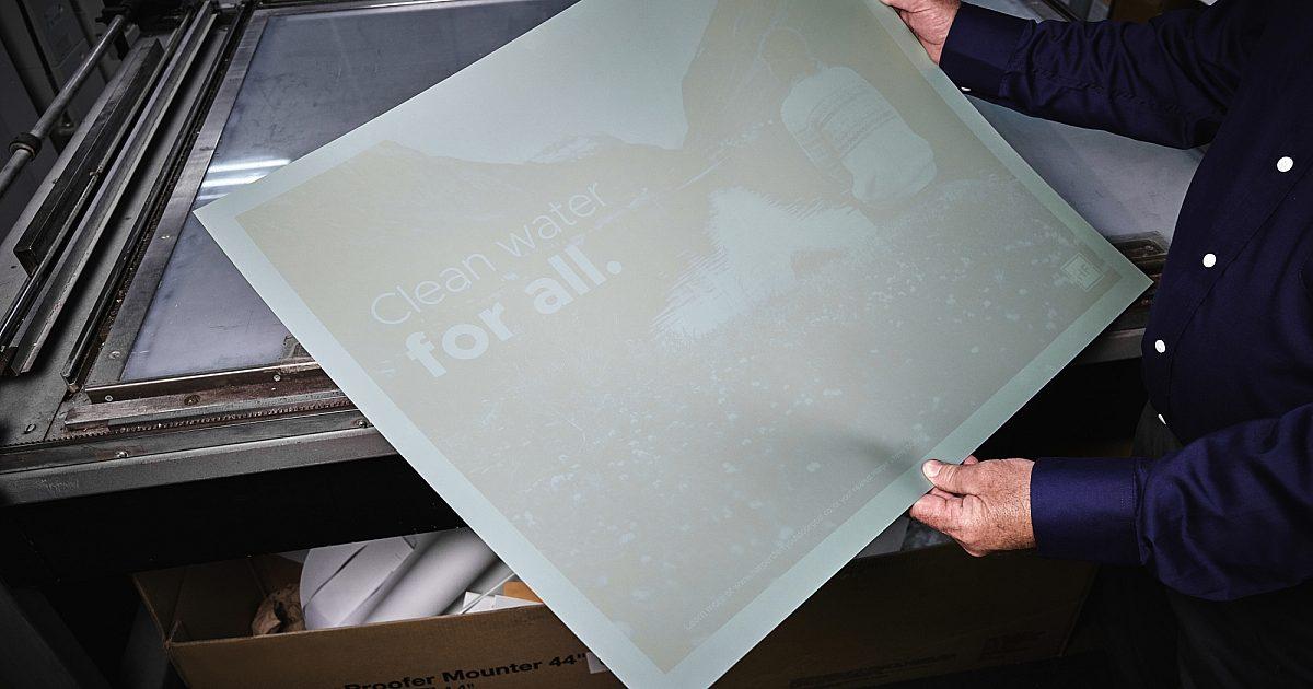 Printing press plate /'44